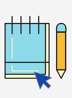 notebook click